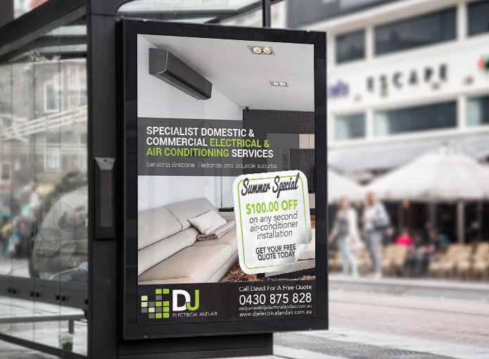 DJ Electrical And Air Advert